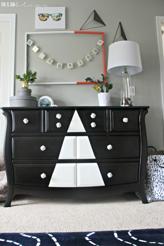 big-boy-room-diy-tribal-geometric-dresser-this-is-our-bliss