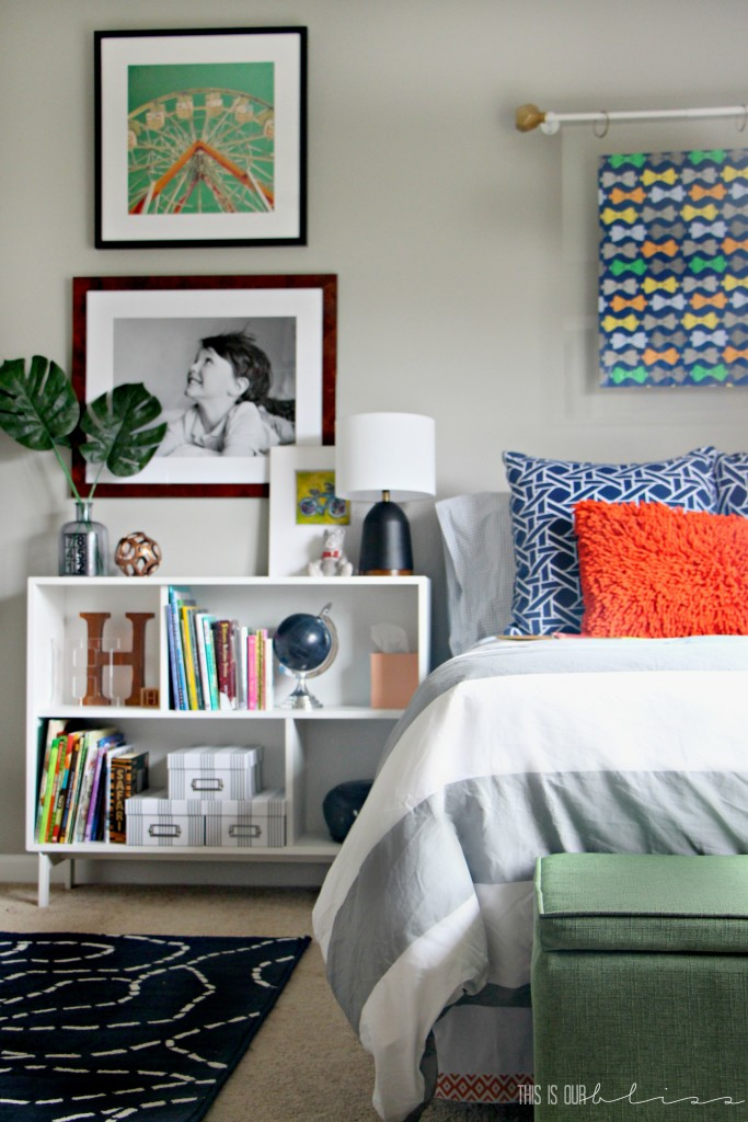 Bold & Graphic Big Boy Room by This is our Bliss