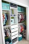 Baby boy nursery closet | diy nursery organization | navy green gray nursery | This is our Bliss