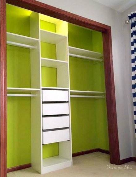 Nursery closet makeover details how to diy a closet for Ikea pax closet system
