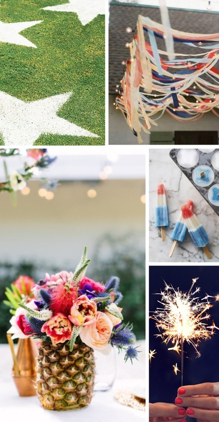 4th of July Ideas - Hunted interior