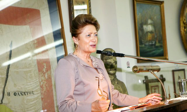 Αναστασία Αναγνωστοπούλου – Παλούμπη, Πρόεδρος του Ναυτικού Μουσείου της Ελλάδος