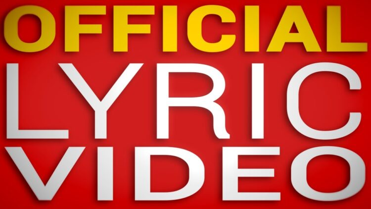 lyric video