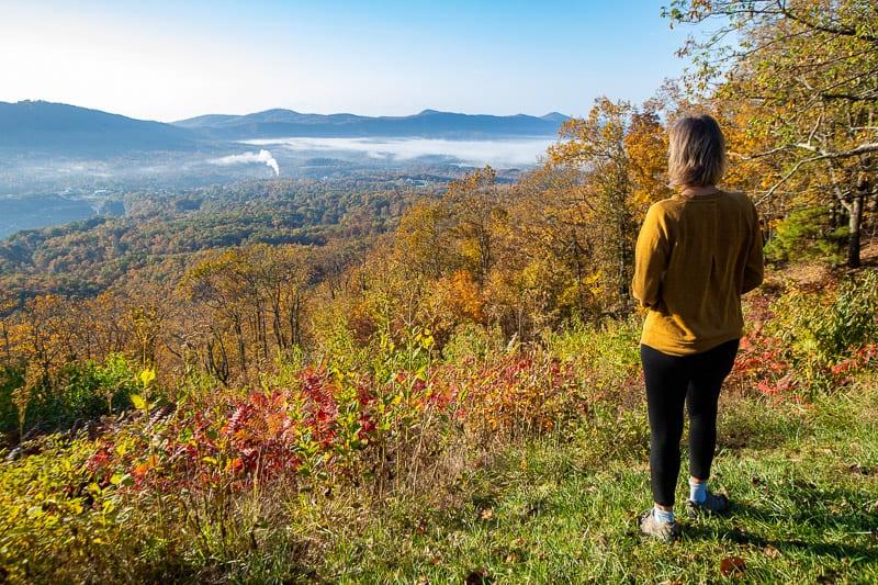 Blue Ridge Parkway, Roanoke Virginia