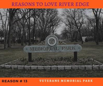 Reasons to Love River Edge - Veterans Memorial Park
