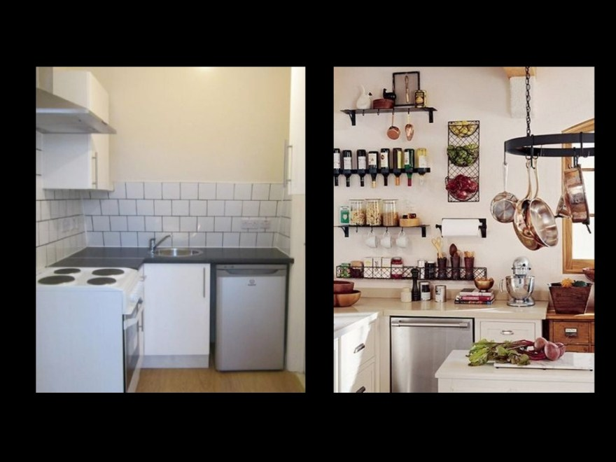 Kitchens compared