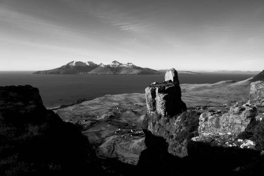 The finger of God on the Isle of Eigg
