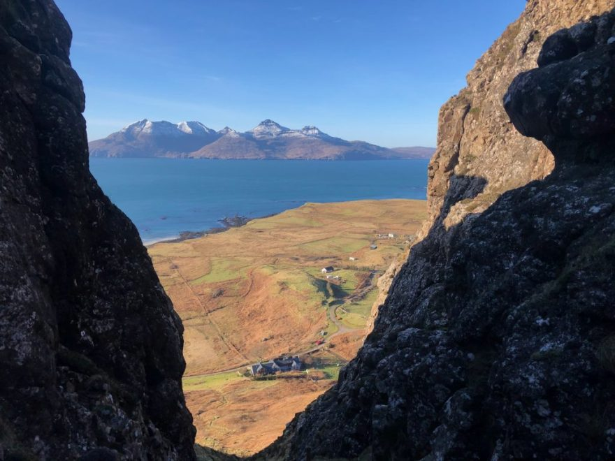 View of the Isle of Rum
