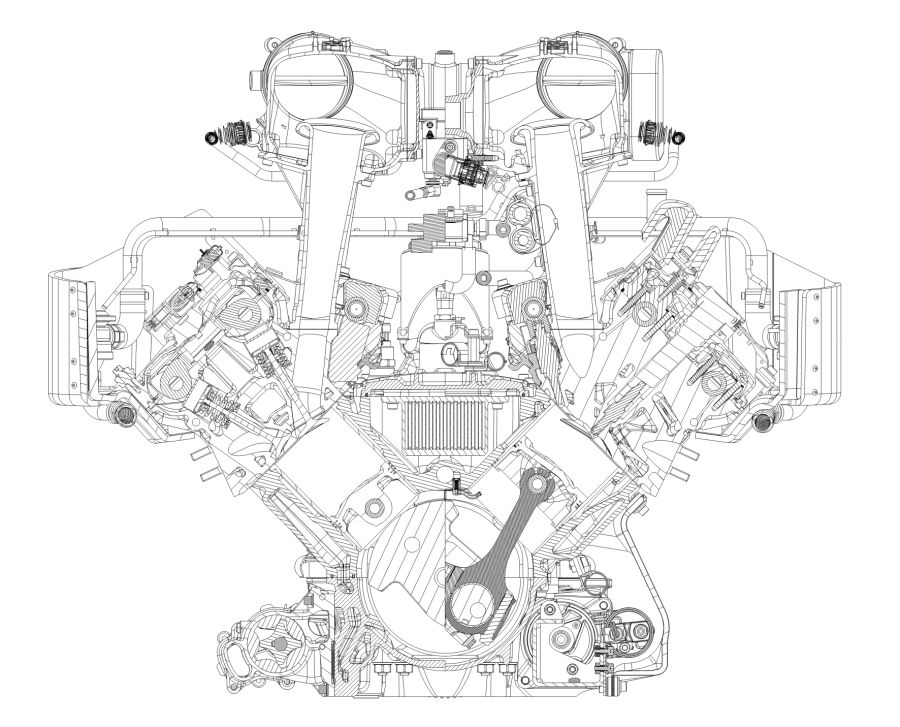 360 Ford V8 Engine Diagram Wallpaper: Cat Engine Diagram V8 At Ultimateadsites.com