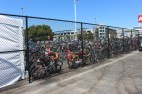 Bike Lockup out side Intel Gate A