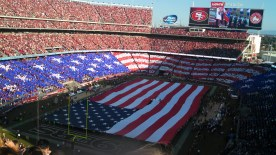 Flag Opening Levi's Stadium