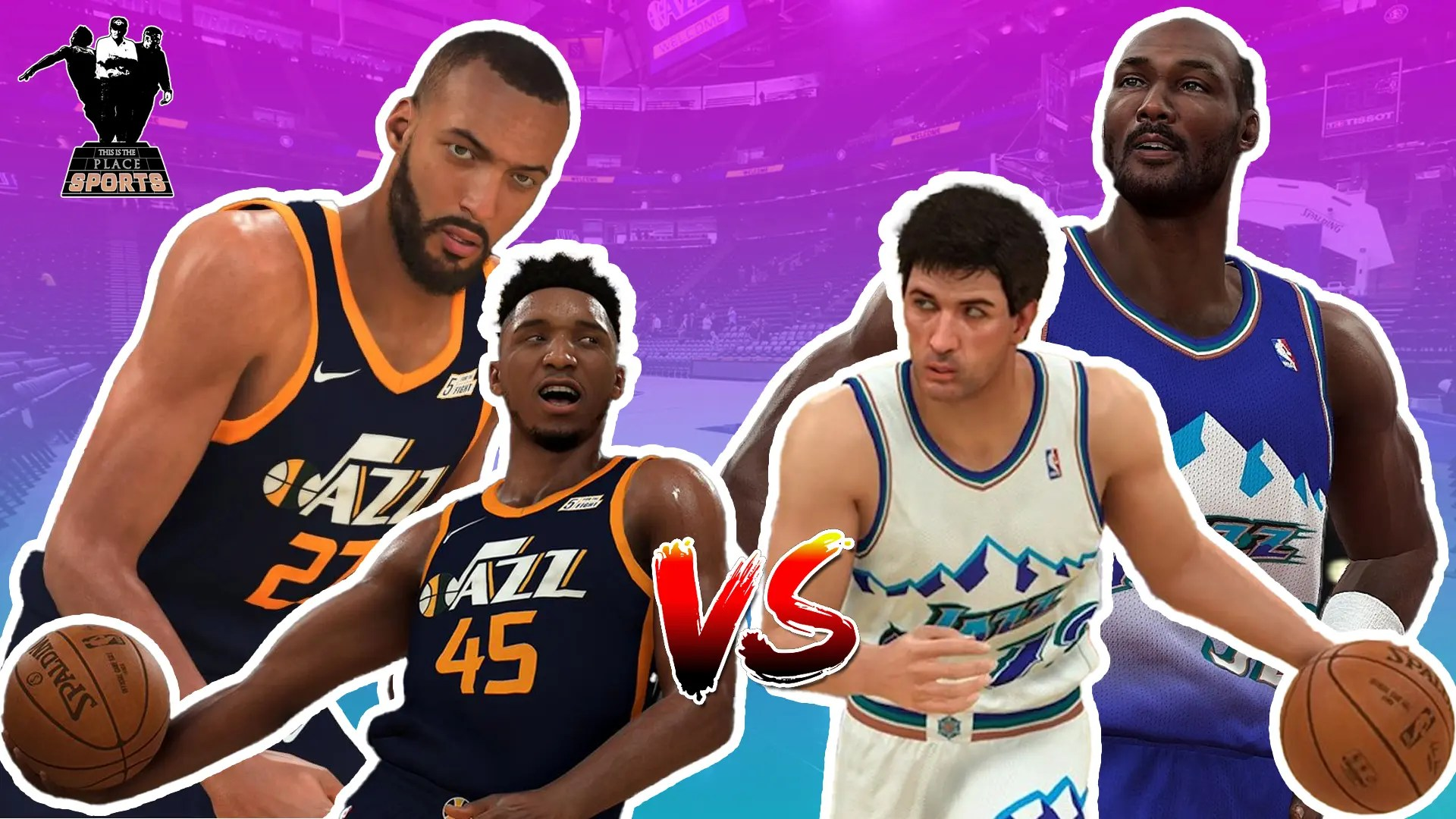 Could The Current Utah Jazz Beat The 97 98 Jazz Nba 2k21 Simulation W Commentary This Is The Place Sports