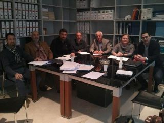 The meeting took place after information emerged before Christmas about the annulment of building licences in Zurgena.