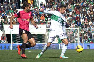 On target again - Cristian Herrera