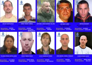 TWO BRITS ON MOST WANTED CRIMINALS LIST