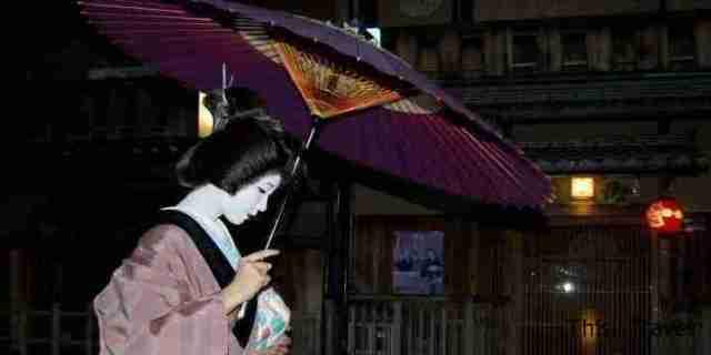 Geisha por las calles de Kyoto