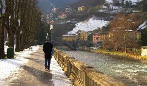 paseo agradable  por las calles de San Pellegrino