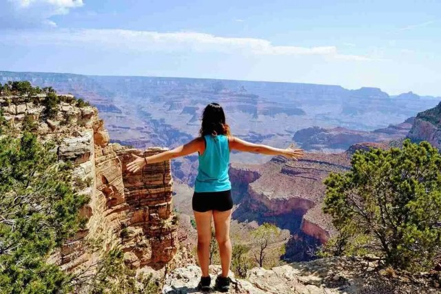 freedom en el Grand Canyon