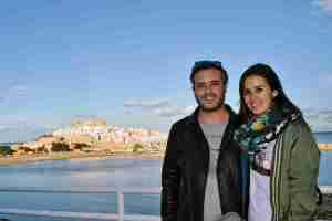 This Is Travel en el atardecer mirador Peñsicola