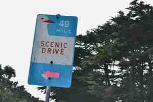 scenic drive SFO