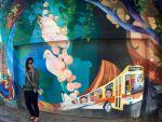 grafittis Balmy Street