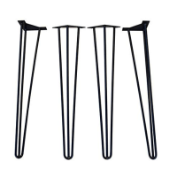 Black hairpin legs