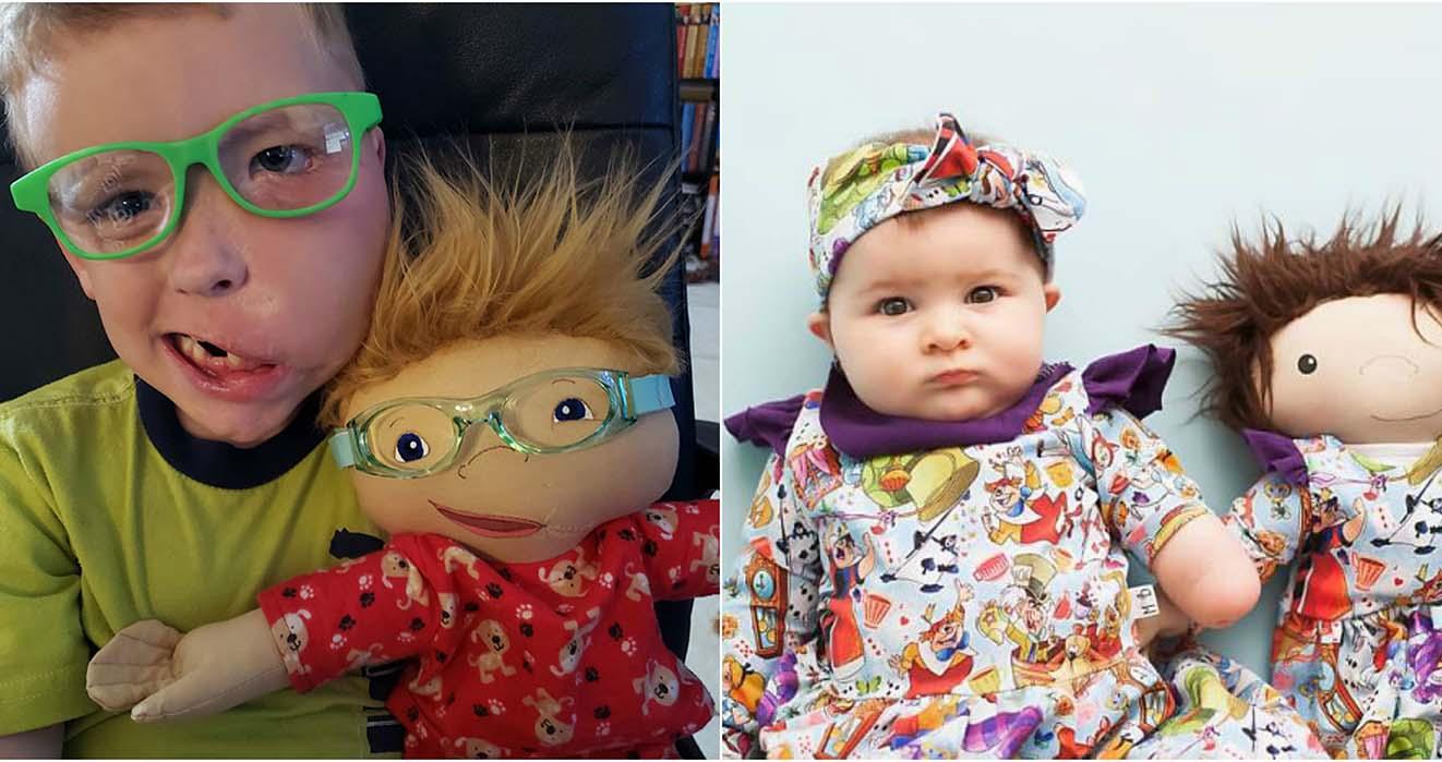 Δημιουργεί κούκλες για παιδιά με ειδικές ανάγκες και αγγίζει τις καρδιές όλων μας –Thisisus.gr