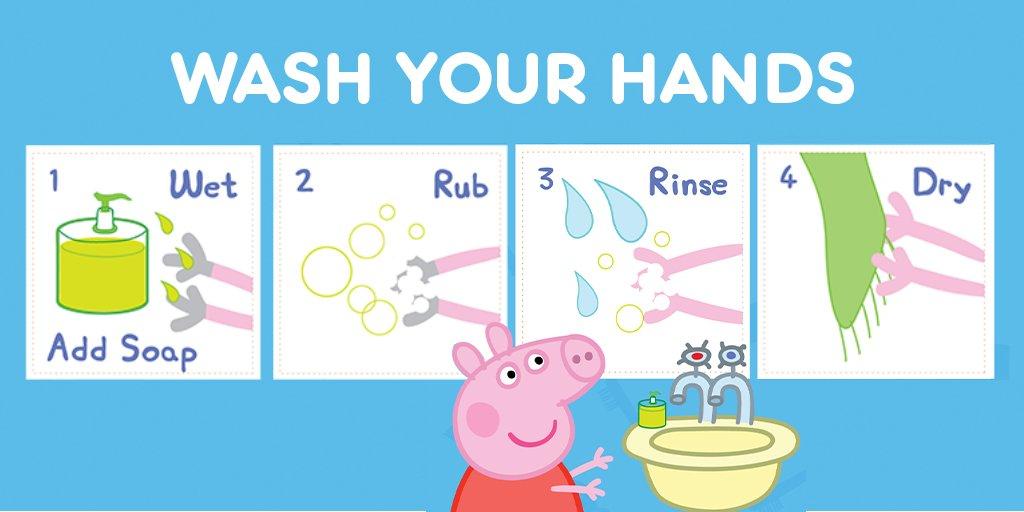 Το βίντεο της Πέπας για το πλύσιμο των χεριών – Thisisus.gr