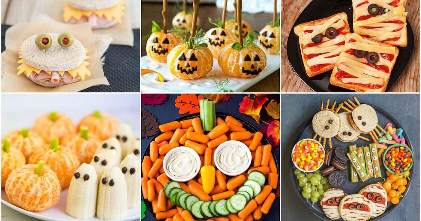 Φτιάξτε διασκεδαστικά Halloween Σνακ –Thisisus.gr