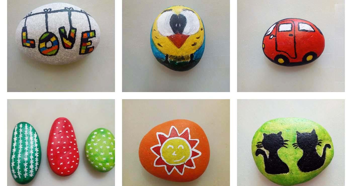 Φτιάξτε υπέροχες δημιουργίες με βότσαλα μαζί με τα παιδιά σας -Thisisus.gr