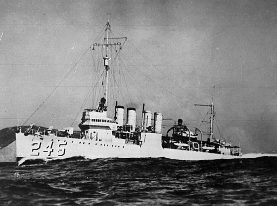 The USS Reuben James was destroyed by a Nazi U-boat in October of 1941, more than a month before the the United States and Germany were at war. It wasn't the only time the U.S. and the Axis would trade blows prior to America's official entry into the war.