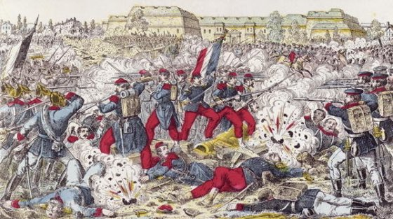 The Prussians made short work of Napoleon III's army in the 1870 invasion of France. It had a much tougher time subduing the underground resistance movement known as the francs-tireurs.