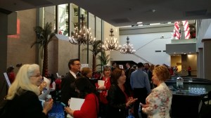 Guests at Tarrant County Go Red Luncheon