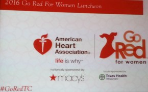 2016 Tarrant County Go Red Luncheon