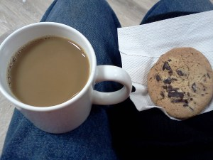coffee cookie