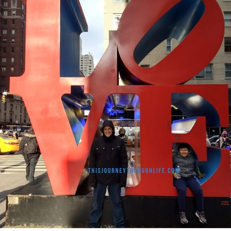 This Journey Through Life - NYC LOVE decoration
