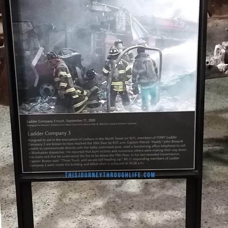 This Journey Through Life - NYC 911 memorial FDNY
