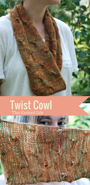 The perfect cowl. Looks complicated but is super simple, chic, and understated in every possible way. Love!