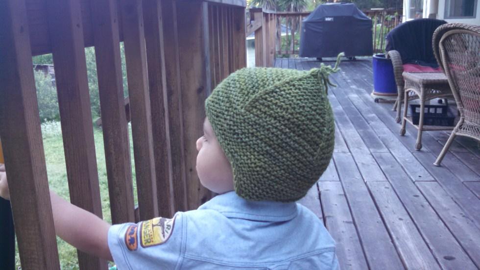 Purl Soho Garter Stitch Earflap Hat Archives - Tributary Yarns ... da7fe63bf5b