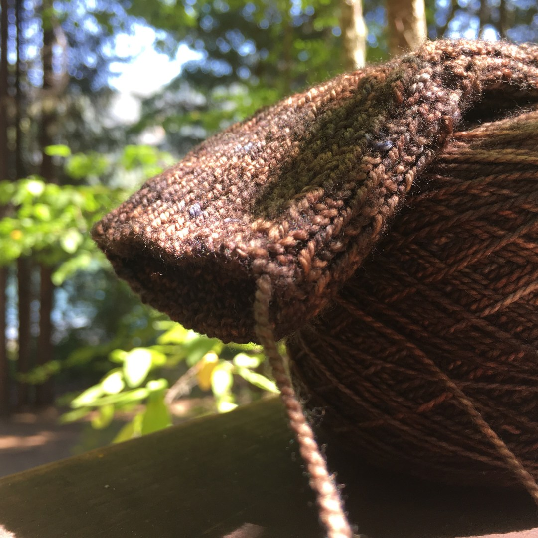 Summer sock knitting