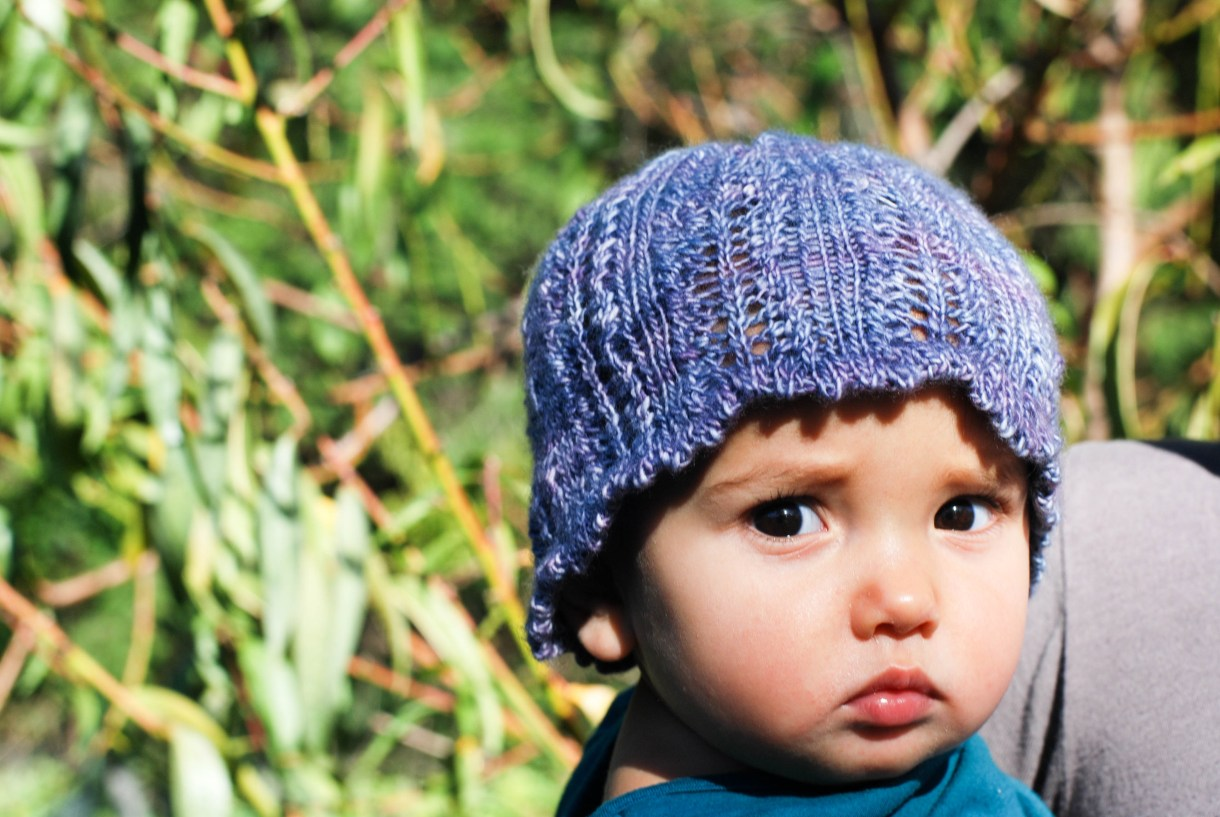 Ari's Wish baby hat pattern by Andrea @ This Knitted Life