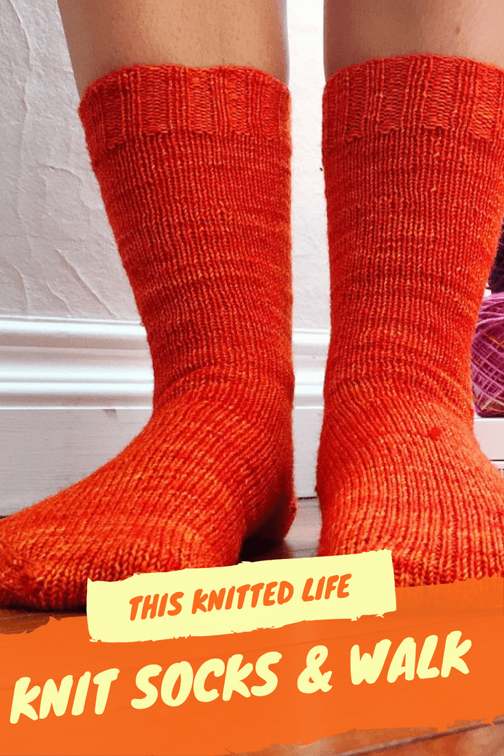 Welcome knitters itching to try walking and knitting socks at the same time. It CAN be done, and YOU can do it. Satisfy your knitting and exercise ambitious AT THE SAME TIME! Read all about it here. I have all the stats ready for you.