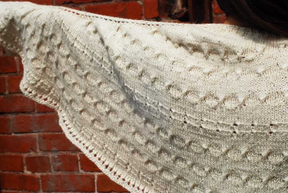 Take Me to the Party shawl knitting pattern by Andrea @ This Knitted Life