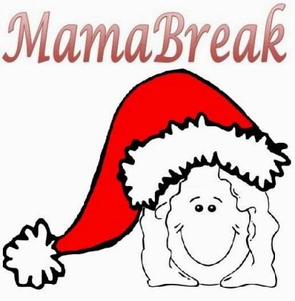 MamaBreak logo holiday