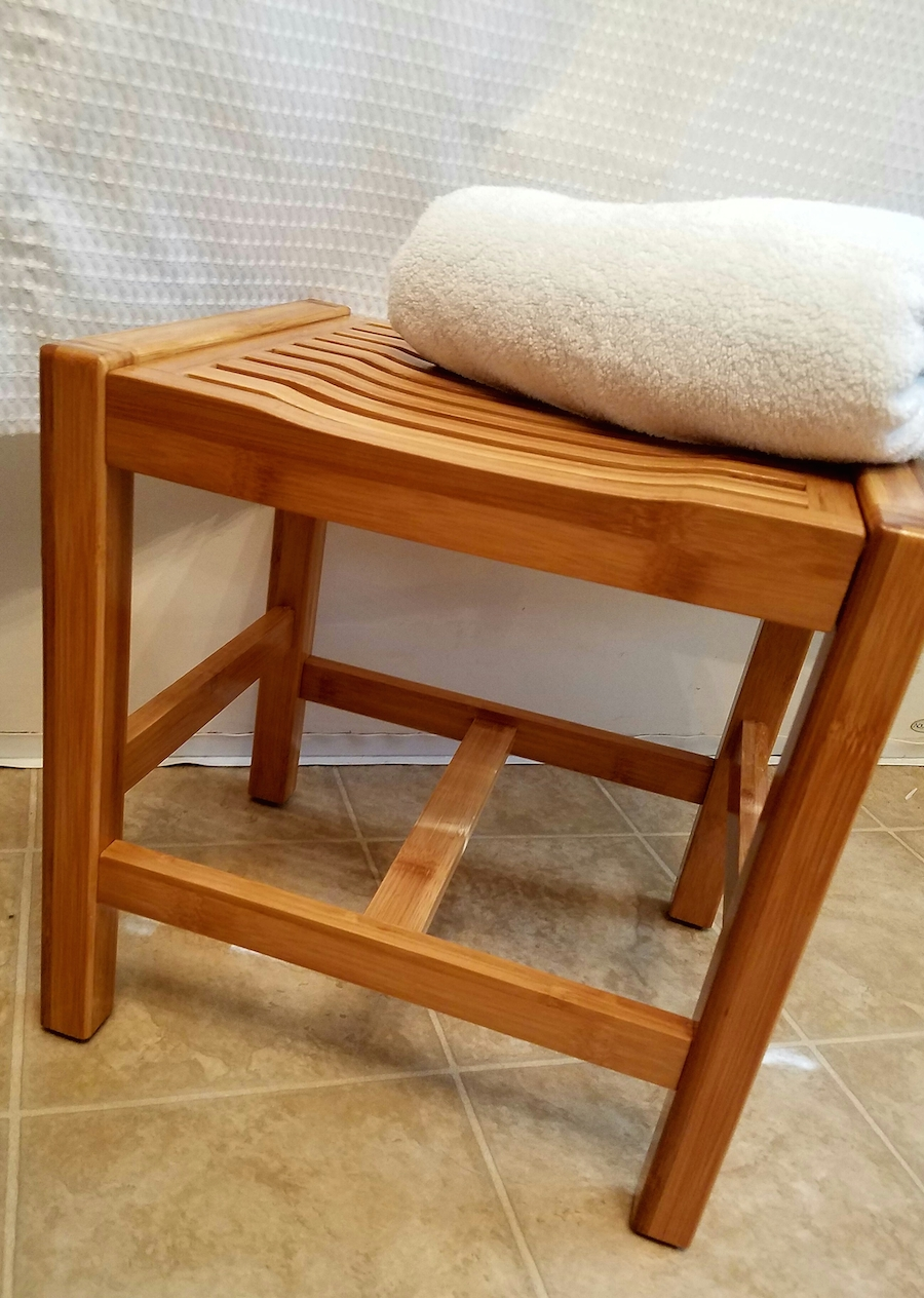 ToiletTree Products Bamboo Bathroom Bench is a Lifesaver #Review ...