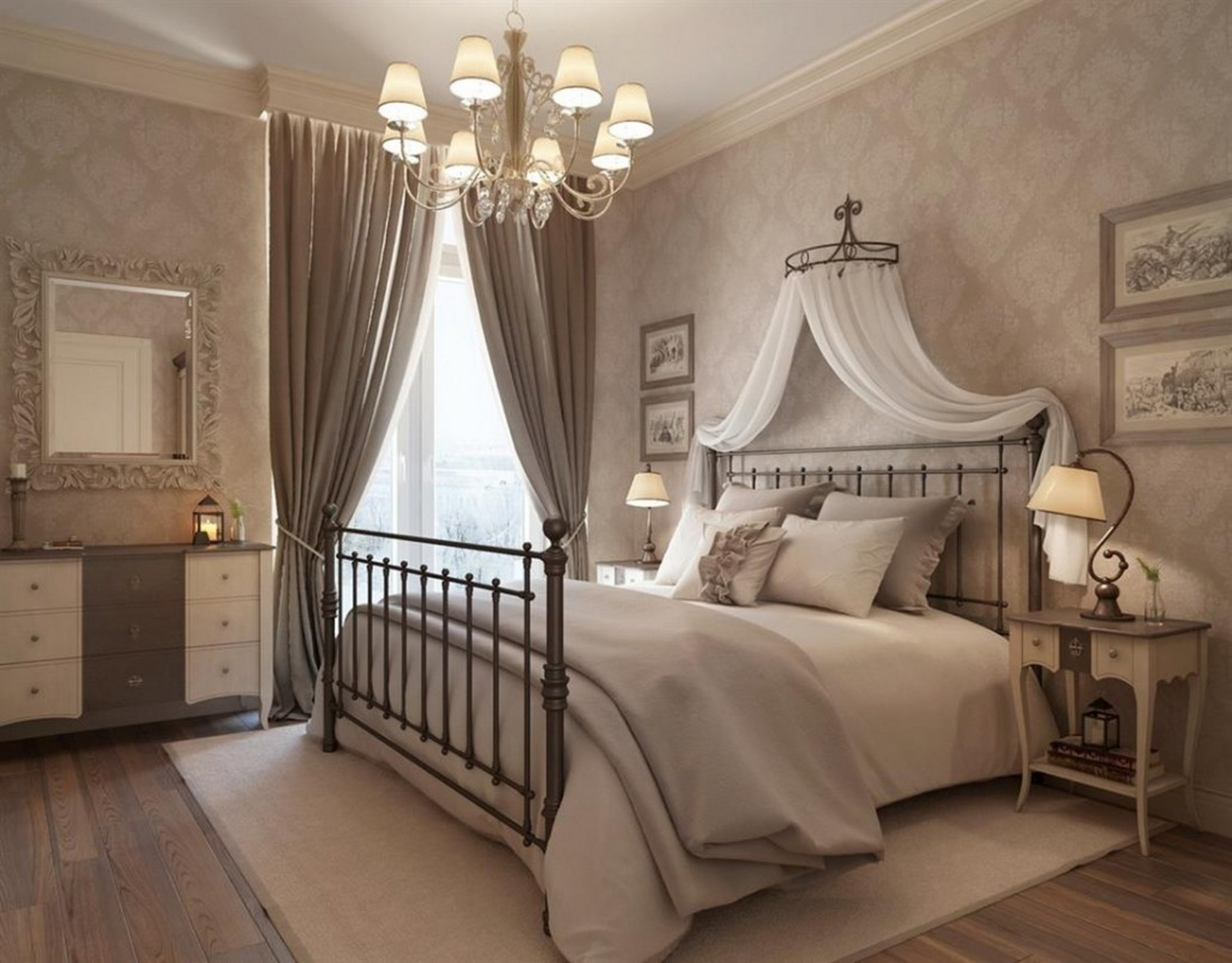 5 stylish vintage bedroom ideas this lady blogs for Bedroom inspiration vintage