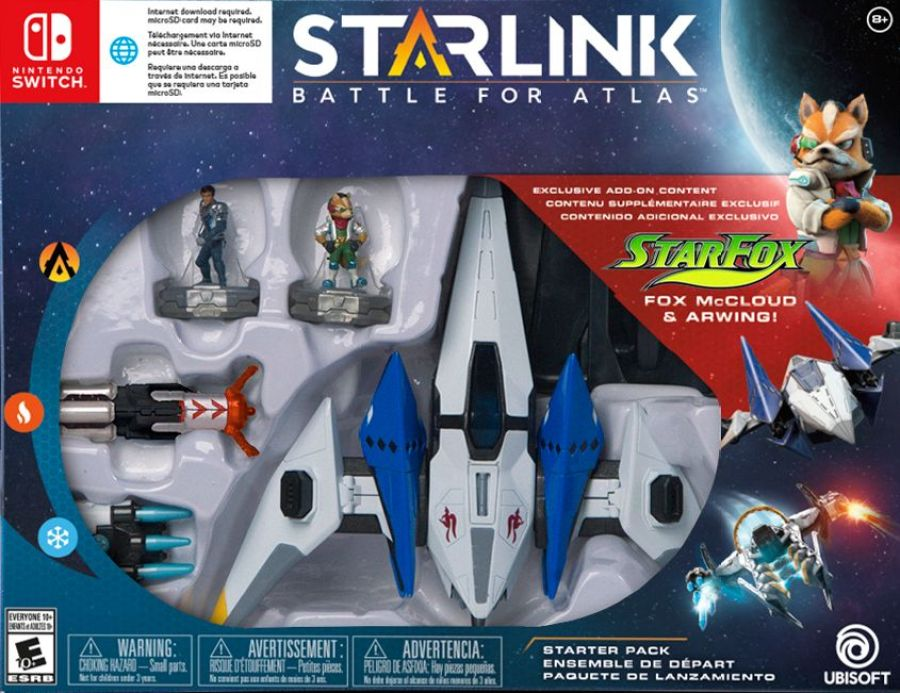 Special Starfox Starlink Game