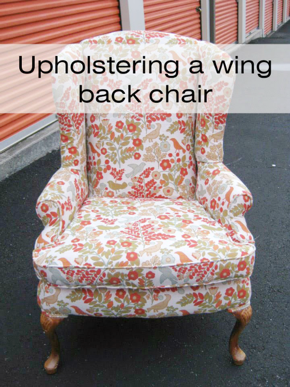 wing back chair copy