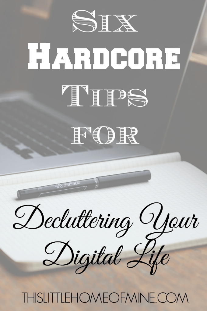 Declutter Your Digital Life by This Little Home of Mine
