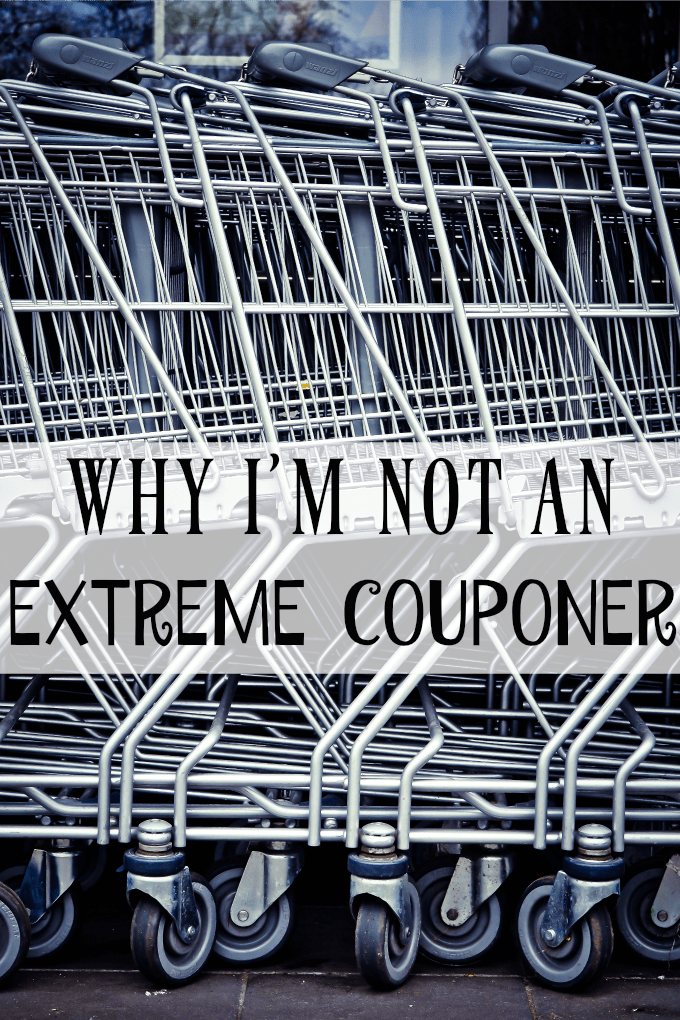 My Coupon Routine: Why I'm Not an Extreme Couponer by This Little Home of Mine